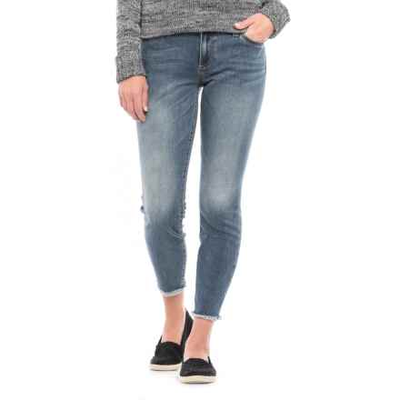 KUT from the Kloth Ankle Skinny Denim Jeans - Fray Hem (For Women) in Yarrow - Closeouts