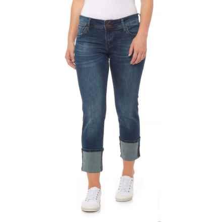 KUT from the Kloth Deep Cut Boyfriend Jeans - Straight Leg (For Women) in Avena - Closeouts