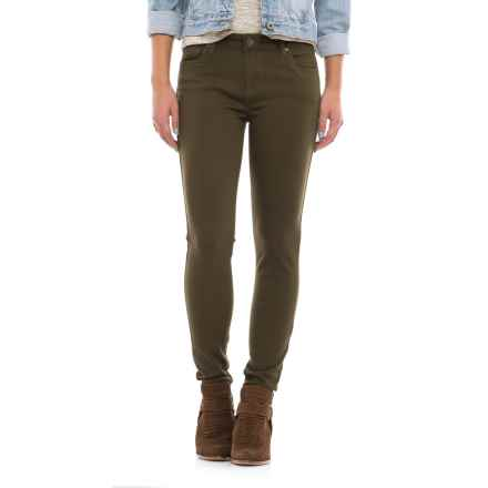 KUT from the Kloth Donna Skinny Jeans (For Women) in Olive - Closeouts