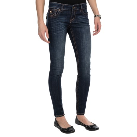 KUT from the Kloth Kate Skinny Jeans - Low Rise (For Women) in Cared