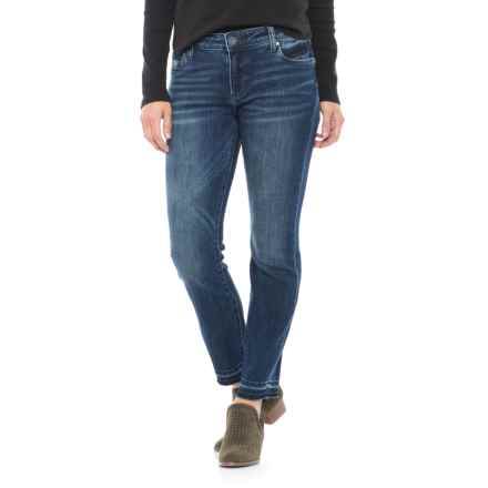 KUT from the Kloth Reese Ankle Jeans - Straight Leg (For Women) in Blue Denim - Closeouts