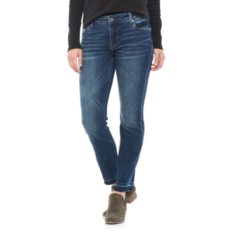 KUT from the Kloth Reese Ankle Jeans - Straight Leg (For Women) in Blue Denim