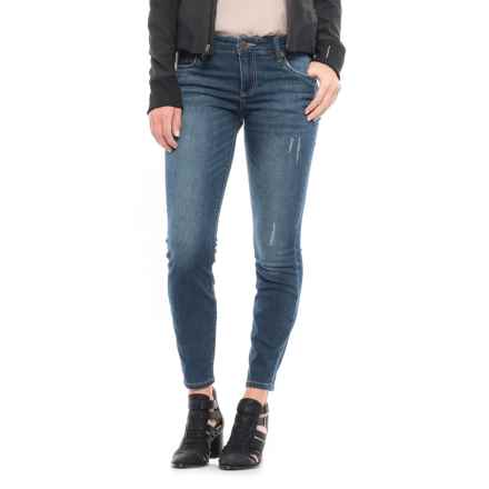 KUT From The Kloth Skinny Jeans (For Women) in Blue Denim - Closeouts