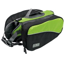 Kyjen Dog Backpack - Small in Green - Closeouts