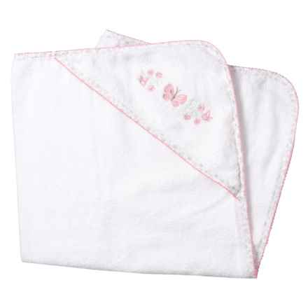 Kyle & Dee Hooded Butterfly Towel (For Newborns) in Pink - Closeouts