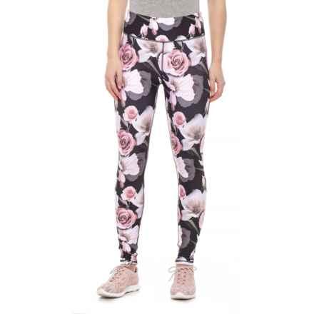 "d9a974e6749b4 Kyodan Allover Print Jersey Leggings - 27"" (For Women) in Delicate -  Closeouts"