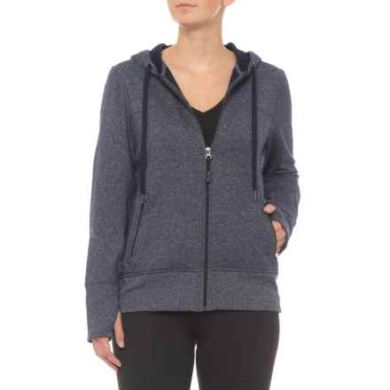 Kyodan Athletic Full-Zip Hoodie (For Women) in Blue/White - Closeouts