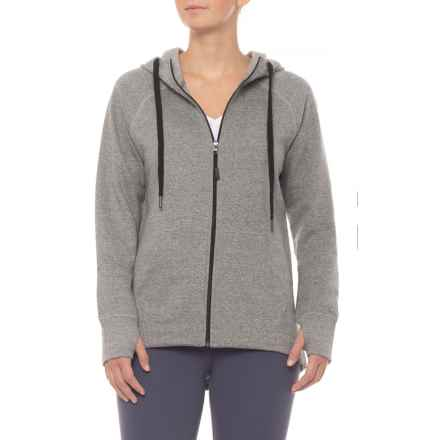Kyodan Athletic Jacket (For Women) in Grey Mix - Closeouts