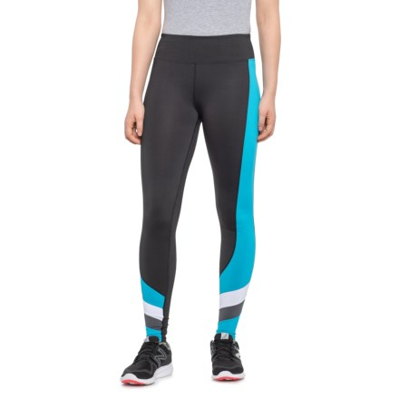 "d47f48f420a2de Kyodan Atomic Blue Throwback Thursday Jersey Leggings - 27"" (For Women) in  Black"