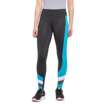 "4e7ecc3227eac Kyodan Atomic Blue Throwback Thursday Jersey Leggings - 27"" (For Women) in  Black"