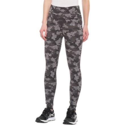 901693a37dbc8 Kyodan Black Camo Allover Print Leggings (For Women) in Black Camo