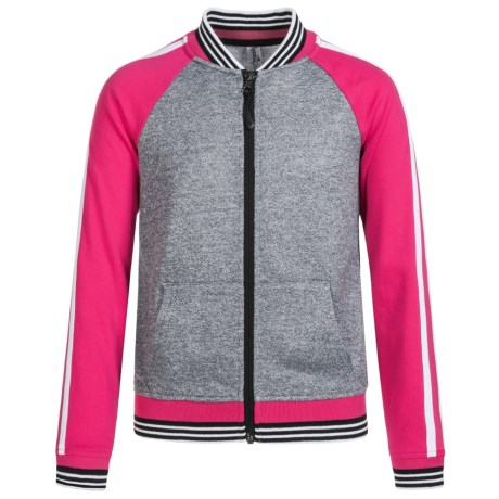 Kyodan Bomber Sweatshirt - Full Zip (For Big Girls)