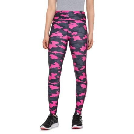 """33e9fb077c40ff Kyodan Camo Neon Allover Printed Leggings - 27"""" (For Women) in Camo On"""