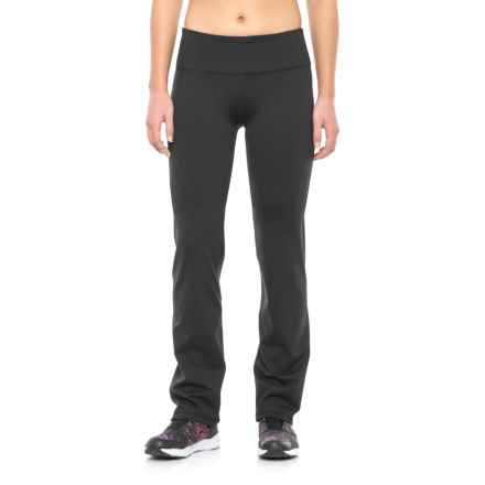 Kyodan Core Basic Stretch Pants - Slim, Straight Leg (For Women) in Black - Closeouts