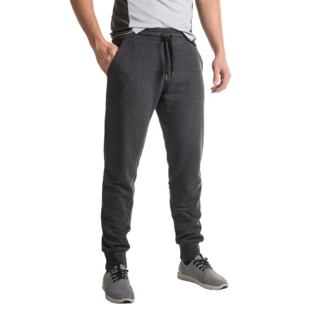 7db3aed0fd28c Kyodan Cotton Joggers (For Men) in Black Melange - Closeouts