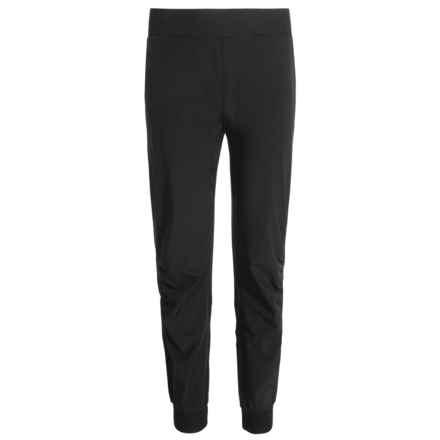 Kyodan Cuffed Dance Pants (For Big Girls) in Black - Closeouts