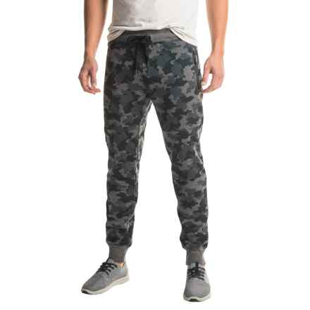 Kyodan Double-Knit Joggers (For Men) in Charcoal Mix Camo - Closeouts