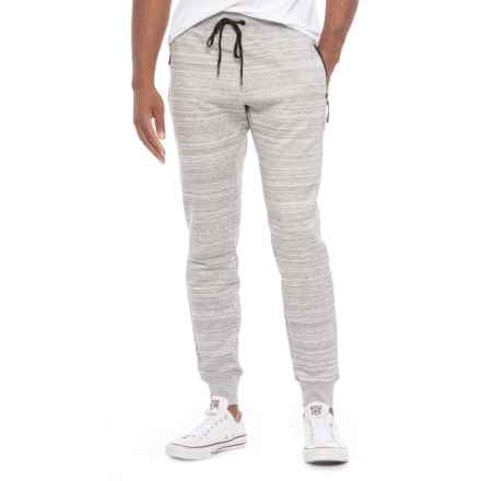 Kyodan Double-Knit Joggers (For Men) in Grey Mix - Closeouts