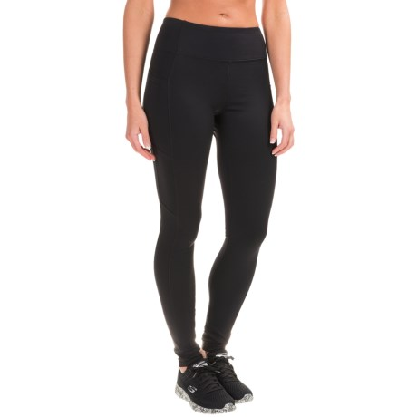 Kyodan Double-Pocket Active Tights (For Women) in Black