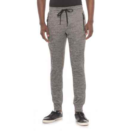 Kyodan Fleece Joggers (For Men) in Charcoal Mix - Closeouts