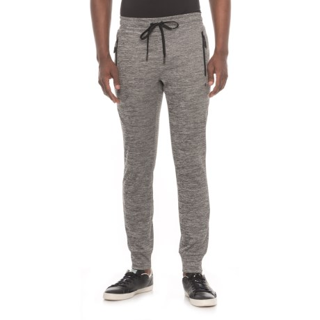 Kyodan Fleece Joggers (For Men) in Charcoal Mix