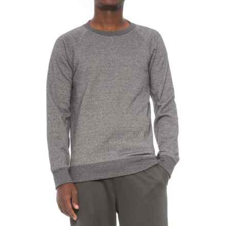 Kyodan Fleece Shirt - Crew Neck, Long Sleeve (For Men) in Black Mock - Closeouts