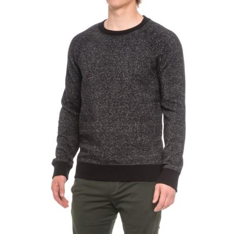 Kyodan Fleece Shirt - Crew Neck, Long Sleeve (For Men) in Black Speckle