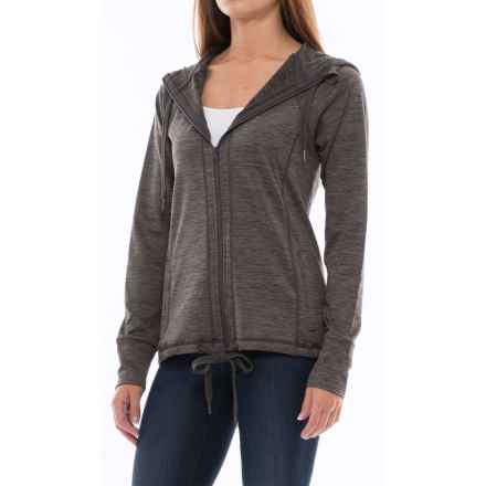 Kyodan Freedom Trail Stretch Sport Jacket - Full Zip (For Women) in Charcoal Melange - Closeouts