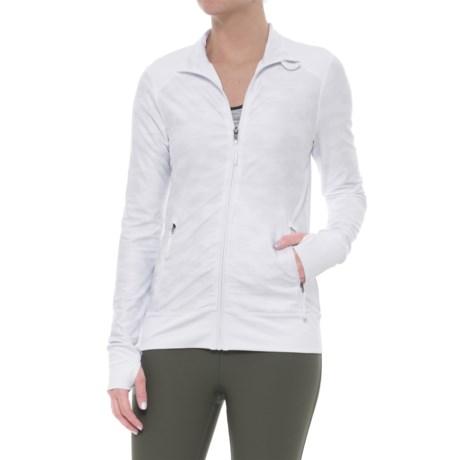 Kyodan Full-Zip Jacket (For Women) in White/Grey Camo