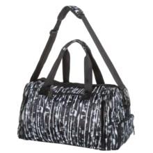 Kyodan Gym Duffel Bag (For Women) in Black/White - Closeouts