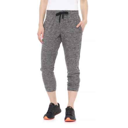 Kyodan Heathered Joggers (For Women) in Grey Heather - Closeouts