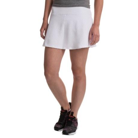 Kyodan Honeycomb Mesh Skort - Built-In Shorts (For Women) in White