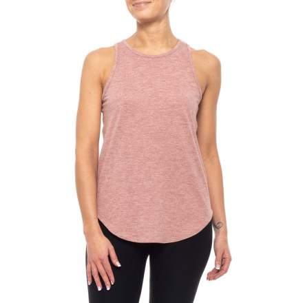 87874350429bd Kyodan Jersey Simple Tank Top (For Women) in Old Rose Heather - Closeouts