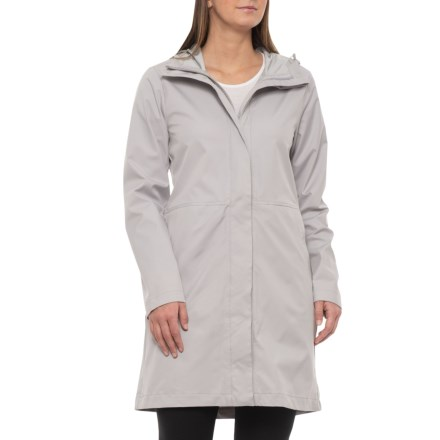 d720172b62114 Kyodan Long Rain Jacket - Waterproof (For Women) in Dove Grey