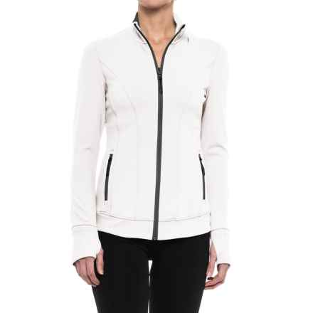 Kyodan Mock Neck Jacket (For Women) in White - Closeouts