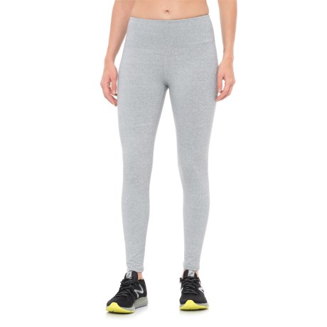 Kyodan Mock Twist Leggings (For Women) in Grey Mix