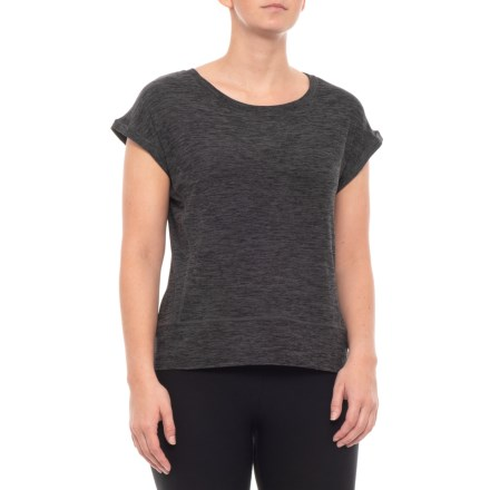 f27621549622c3 Kyodan Moss Jersey Shirt - Short Sleeve (For Women) in Charcoal Heather -  Closeouts