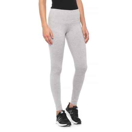 909a06ffe07c75 Kyodan Mossed Jersey Leggings (For Women) in Fog - Closeouts