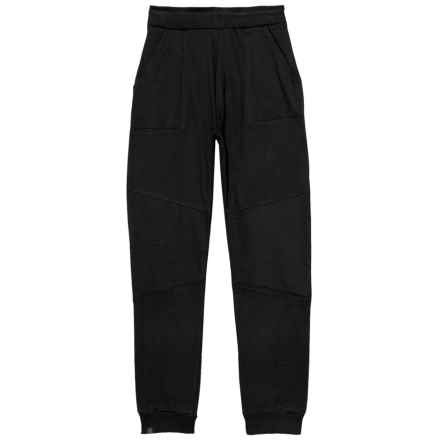 Kyodan Moto Fleece Joggers (For Boys) in Black - Closeouts