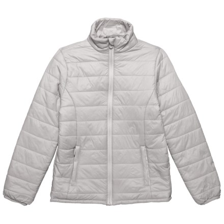 04a75e99b Kyodan Nylon Packable Jacket - Insulated (For Big Girls) in Platinum -  Closeouts