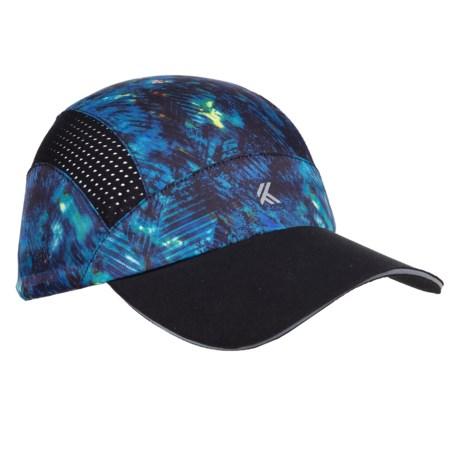 Kyodan Patterned Athletic Baseball Cap (For Women) in Black