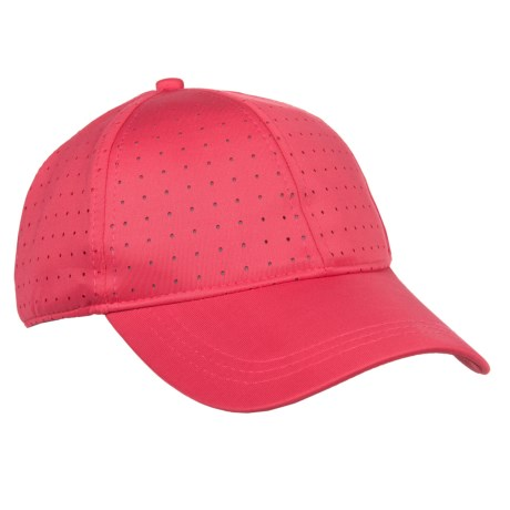 Kyodan Perforated Athletic Baseball Cap (For Women) in Electric Shock