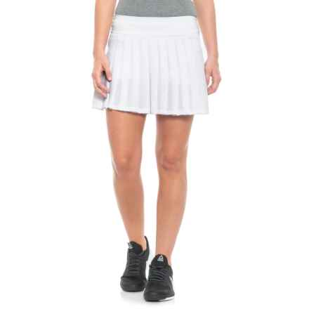 Kyodan Pleated Skort (For Women) in White - Closeouts