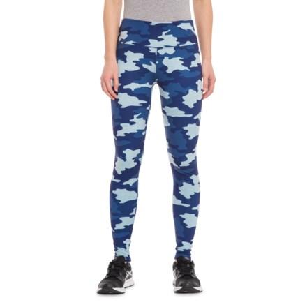 aa2175e6c6bfa Kyodan Printed Moss Jersey Leggings (For Women) in Clearwater Heather/Camo  - Closeouts