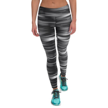 Kyodan Printed Running Tights (For Women)