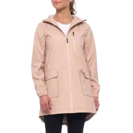 Kyodan Rain Coat - Waterproof (For Women) in Dusty Pink