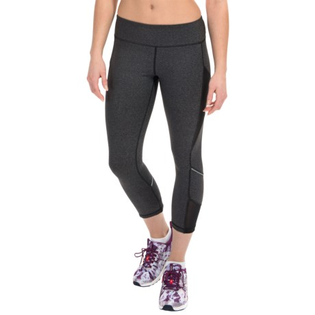Kyodan Reflective Technical Running Capris UPF 40+ (For Women)