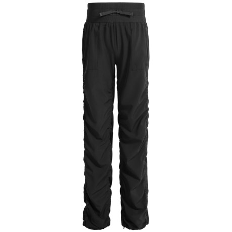 Kyodan Ruched-Leg Pants (For Big Girls) in Black