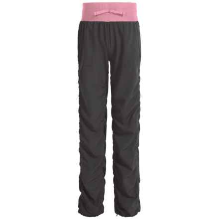 Kyodan Ruched-Leg Pants (For Big Girls) in Slate/Ballerina - Closeouts