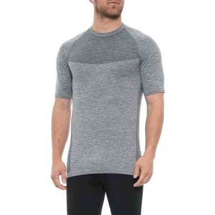 Kyodan Seamless T-Shirt - Short Sleeve (For Men) in Dark Charcoal Melange - Closeouts